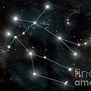 Artists Depiction Of The Constellation Poster