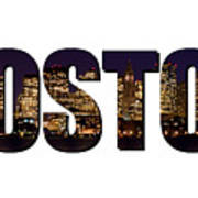 Boston Massachusetts Poster