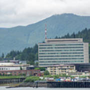 Juneau Alaska Usa Northern Town And Scenery Poster
