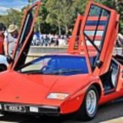 Lamborghini Countach Lp400 Poster