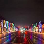 Rochester Christmas Light Display Poster