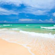 Sandy Beach Poster