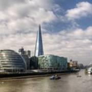 Southwark Skyline Poster