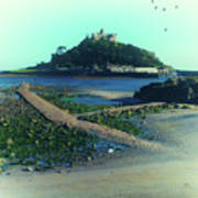 St Michaels Mount Poster