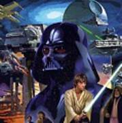 Star Wars Galactic Heroes Poster Poster