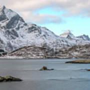 Sund, Lofoten - Norway Poster