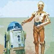 Trilogy Star Wars Art Poster