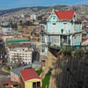 Valparaiso, Chile Poster