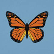 74- Monarch Butterfly Poster