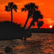 75 Island Sunset Poster