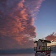 7826- Miami Beach Sunrise Poster