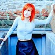 79361 Hayley Williams Paramore Women Singer Redhead Poster