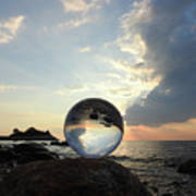 8-26-16--5878 Don't Drop The Crystal Ball, Crystal Ball Photography Poster