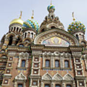 Church Of The Savior On Spilled Blood  Poster