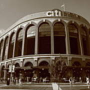 Citi Field - New York Mets Poster by Frank Romeo