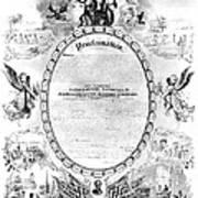 Emancipation Proclamation Poster