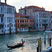 Gondola, Canals Of Venice, Italy Poster
