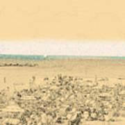 Gordon Beach, Tel Aviv, Israel Poster