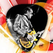 Joe Bonamassa Blues Guitarist Art Poster