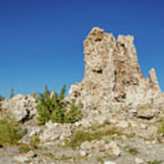 Natural Rock Formation At Mono Lake, Eastern Sierra, California, Poster