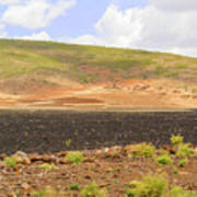 Rural Landscape In Ethiopia Poster