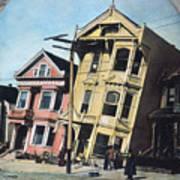 San Francisco Earthquake Poster