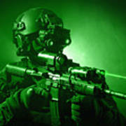Special Operations Forces Soldier Poster