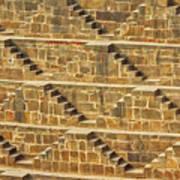 Steps At Chand Baori Poster