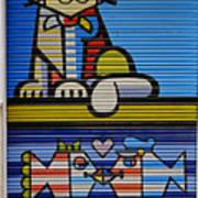 Street Art In Palma Majorca Spain Poster