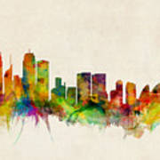 Sydney Australia Skyline Poster