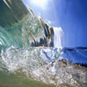 Underwater Wave Poster