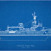 U.s. Coast Guard Cutter Polar Sea Poster