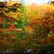 Nature Landscape Lighting Poster