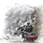 80072 Steaming In The Rain Poster