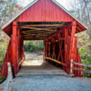 8351- Campbell's Covered Bridge Poster