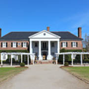 The Main House At Boone Hall Poster