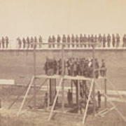 Execution Of The Conspirators Poster