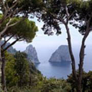 Faraglioni - Capri Poster