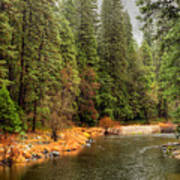Merced River Yosemite Valley Poster