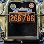 Model A Ford, Old Town Fairfax, Virginia Poster