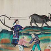 Portraying The Chinese Tea Traders Poster