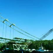 The New Tacoma Narrows Bridge Poster