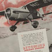 World War II Advertisement Poster