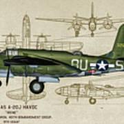 A-20 Havoc - Irene Poster
