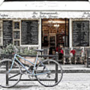 A Bicycle In Paris Poster