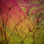 A Bird's Dream Of Summer Poster