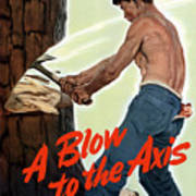 A Blow To The Axis - Ww2 Poster