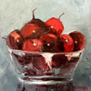 A Bowl Full Of Cherries Poster