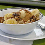 A Bowl Of Oats Poster