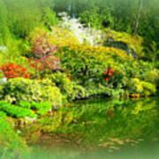 A Bright Garden Poster